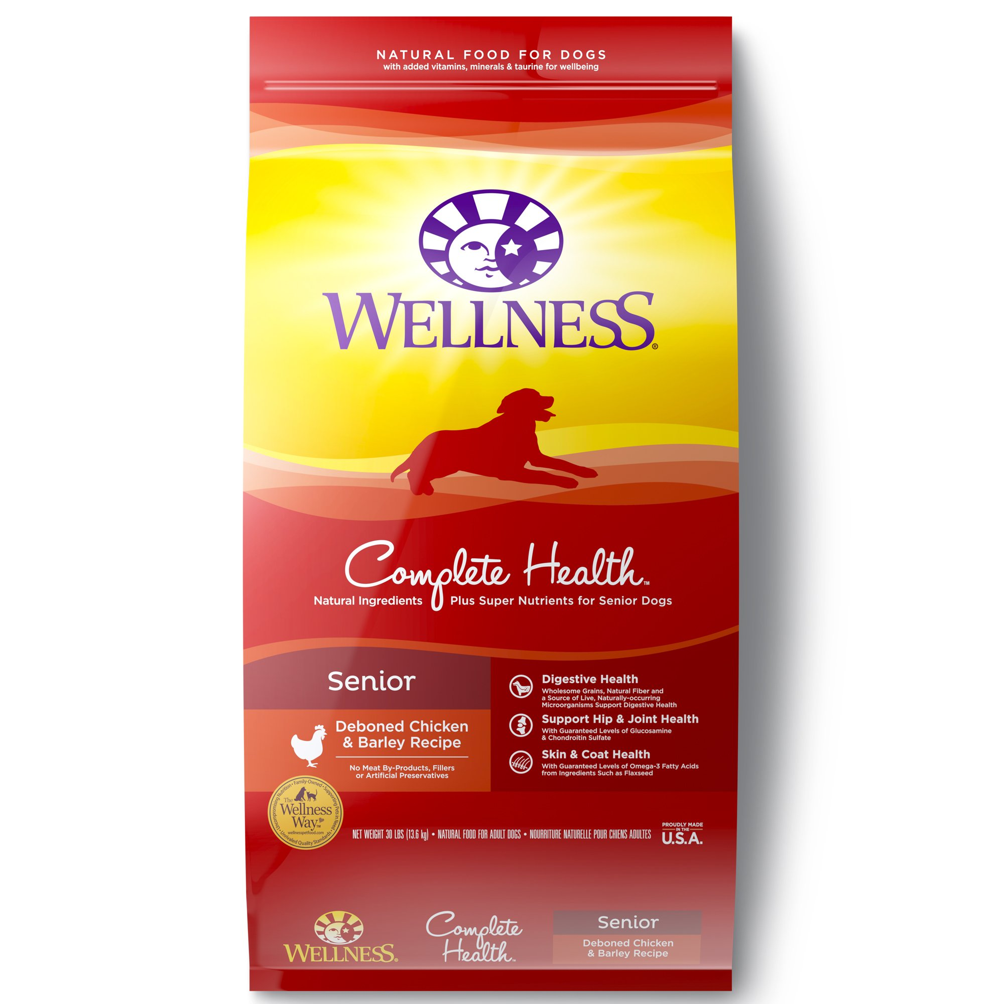 Wellness Complete Health Natural Dry Dog Food Senior Recipe