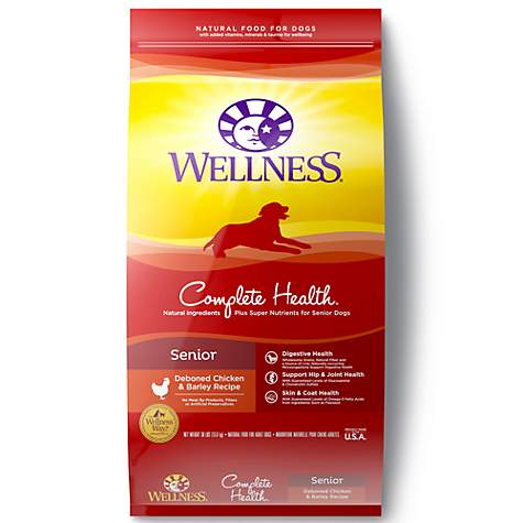 Wellness Complete Health Natural Senior Health Recipe Dry Dog Food