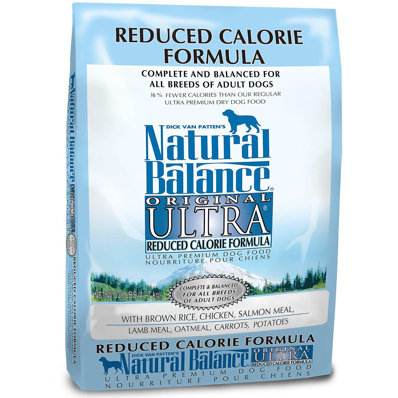 Natural Balance Reduced Calorie Formula Ultra Premium Dog Food 28 Lbs.