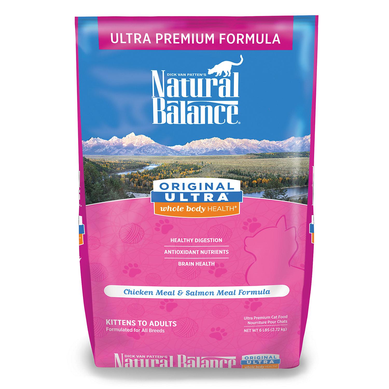 Natural Balance Original Ultra Whole Body Health Cat Food 6 Lbs.
