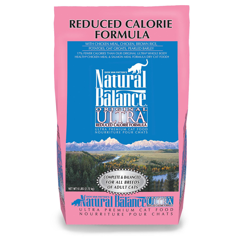 Natural Balance Reduced Calorie Formula Ultra Premium Cat Food