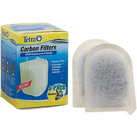 Tetra Replacement Carbon Filters for EX20 Filtration System