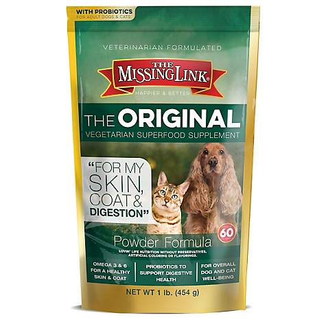 The Missing Link Original Superfood Vegetarian Skin, Coat & Digestion Supplement for Dogs