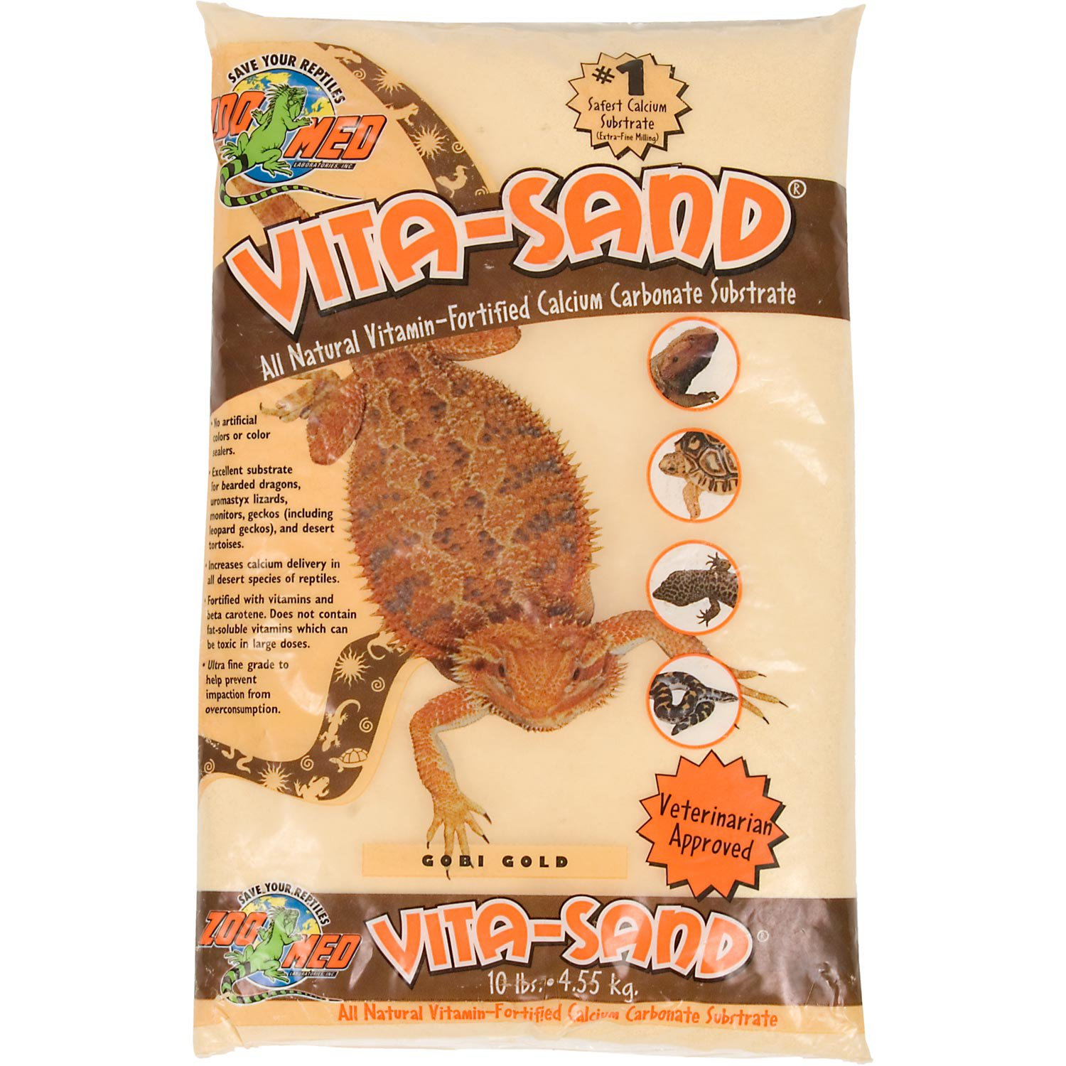 Zoo Med Vita Sand in Gobi Gold