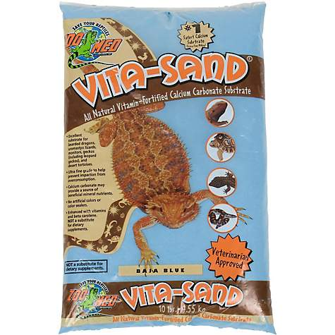Zoo Med Vita-Sand in Baja Blue