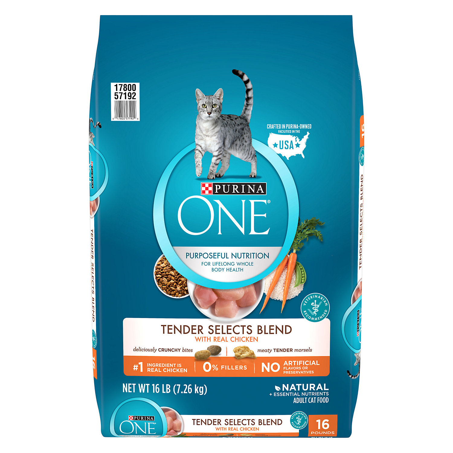 Purina One Chicken Tender Selects Adult Cat Food