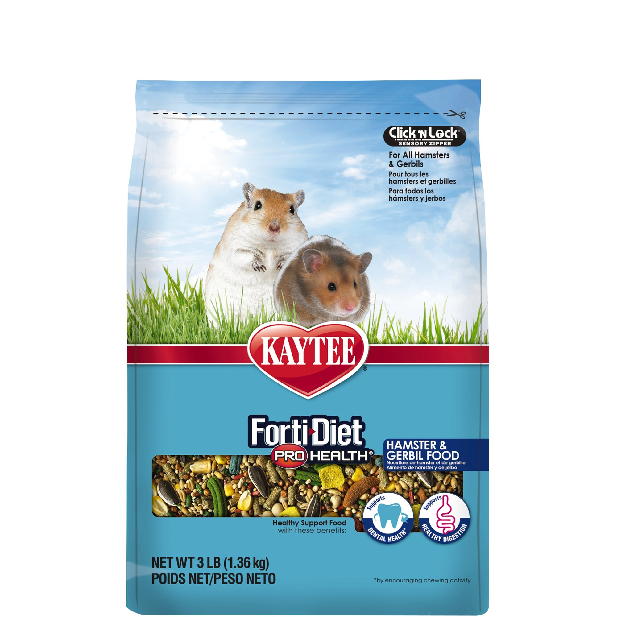Kaytee Forti-Diet Pro Health Hamster & Gerbil Food