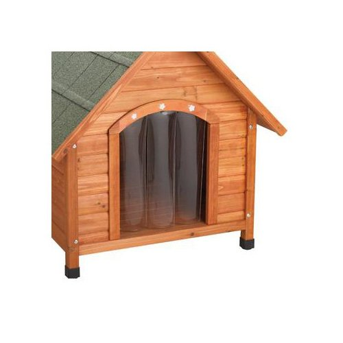 Ware premium plus a frame dog house doors petco for Dog house with a door