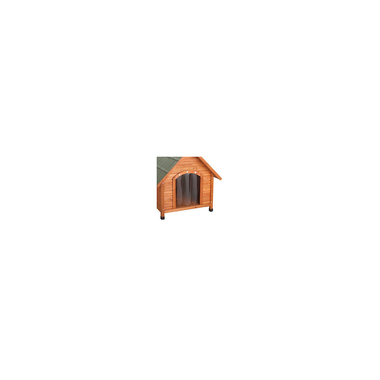 Ware Premium Plus A Frame Dog House Door Flap Medium Black / Grey