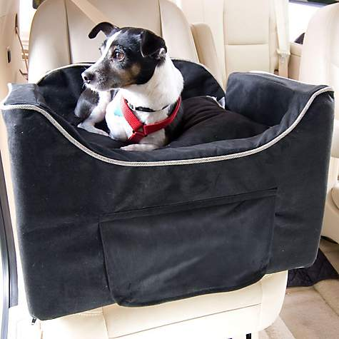 Snoozer Black Luxury Lookout II Dog Car Seat