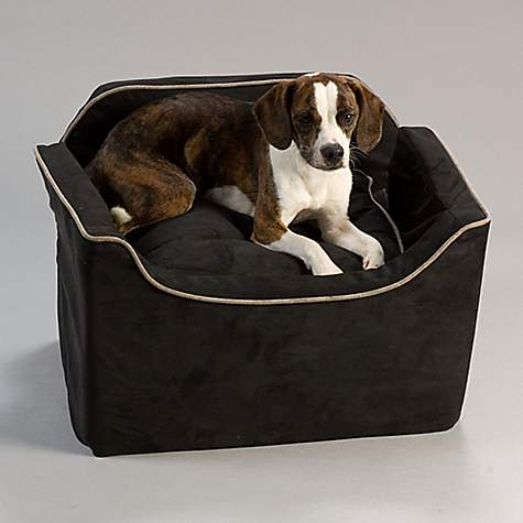 Snoozer Black Luxury Lookout I Dog Car Seat