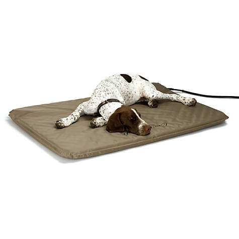 pad dog heated bed