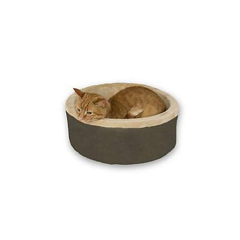 K&H Thermo-Kitty Bed in Mocha