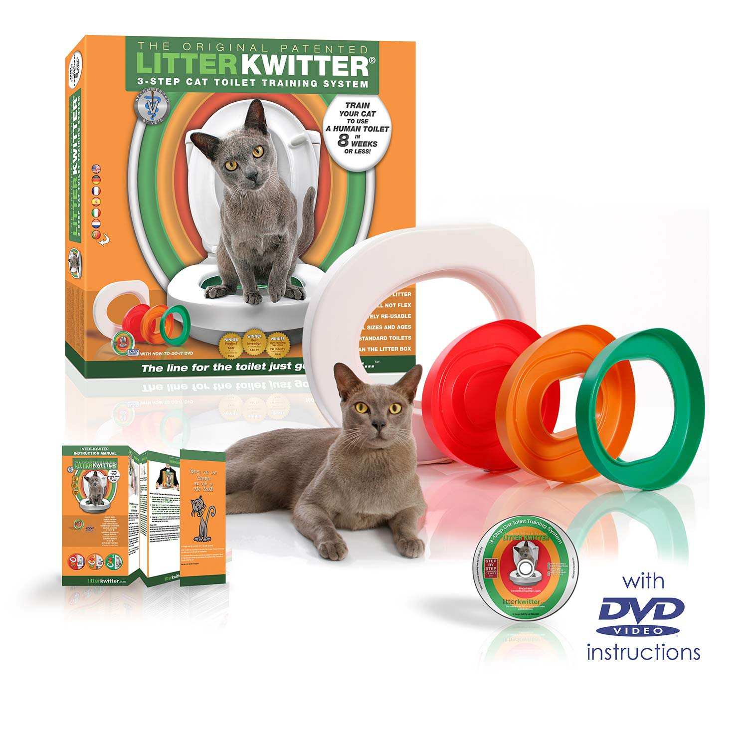 Litter Kwitter Toilet Training System Petco
