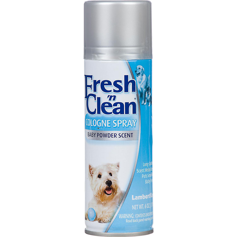 Fresh N Clean Baby Powder Dog Spray