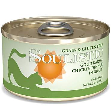 Soulistic Good Karma Chicken Dinner in Gravy Wet Cat Food