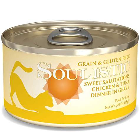 Soulistic Sweet Salutations Chicken & Tuna Dinner Adult Canned Cat Food in Gravy