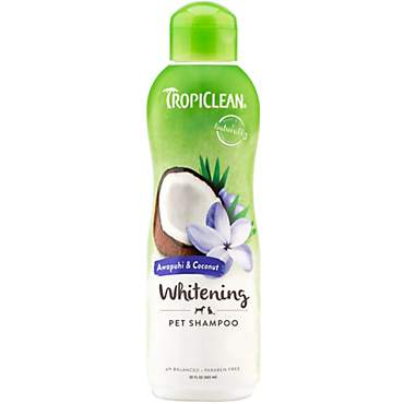 TropiClean Natural Awapuhi White Coat Dog & Cat Shampoo