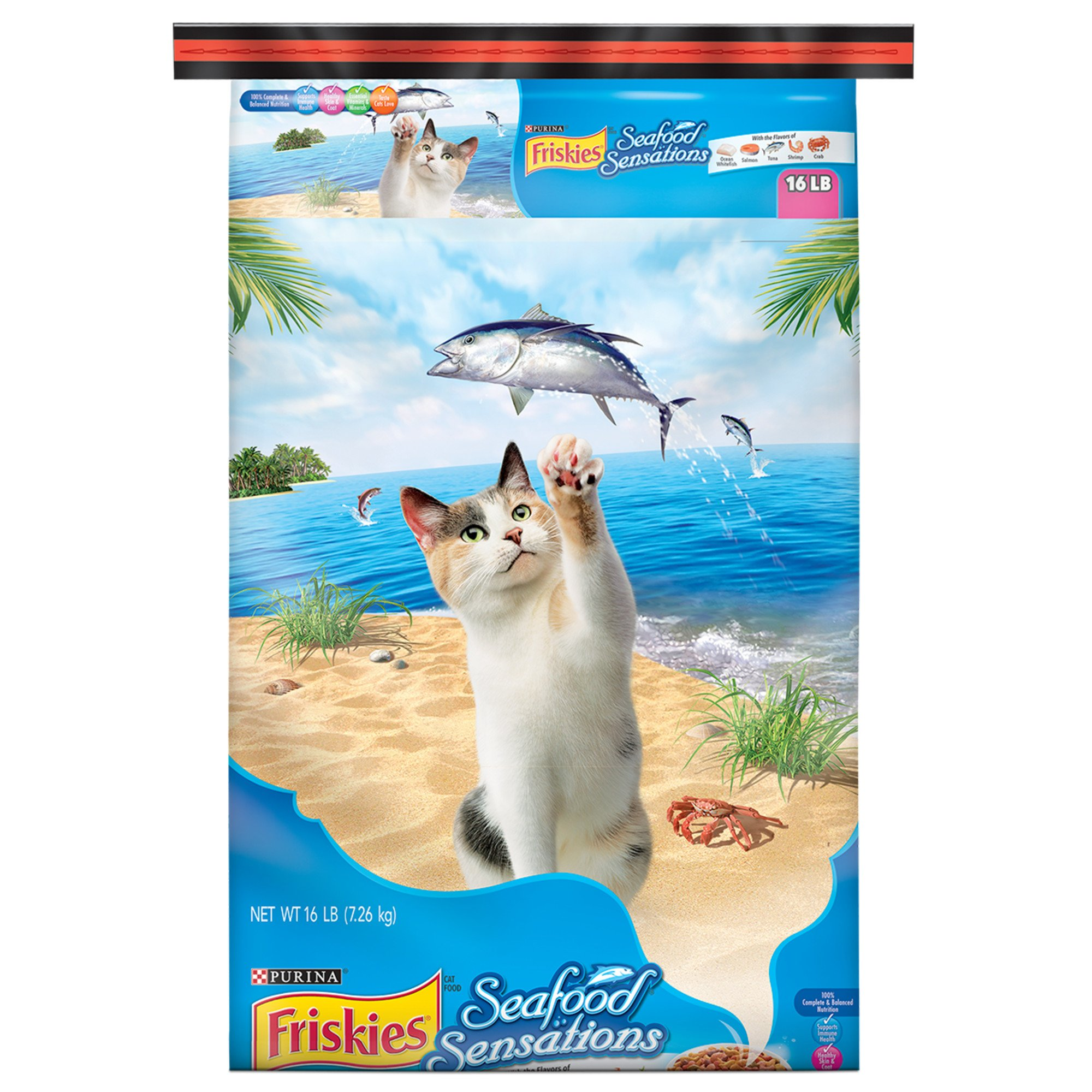 Friskies seafood sensations cat food petco for Friskies cat fishing