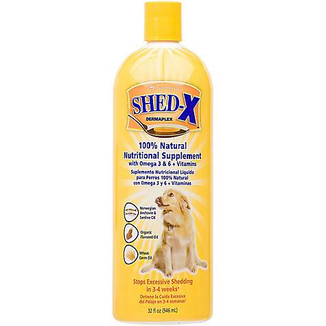 Shed X Dermaplex Liquid Supplement For Dogs Petco