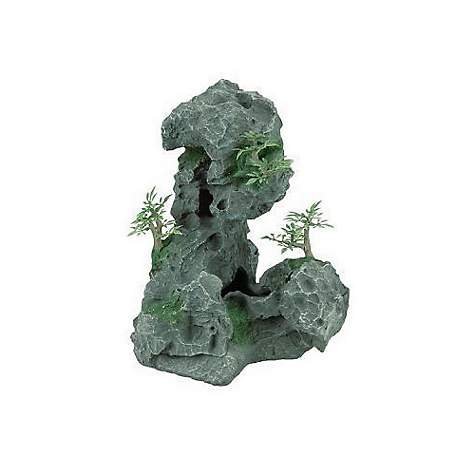 Zilla Granite Cave Dens with Foliage