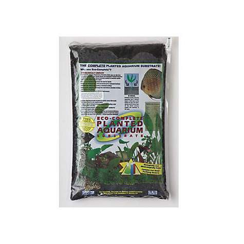 eco complete planted black aquarium substrate petco