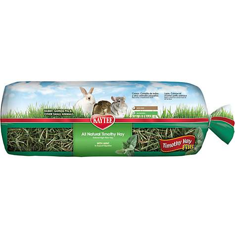 Kaytee Timothy Hay Plus Mint For Rabbits & Small Animals