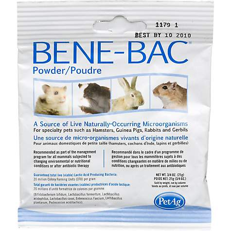 PetAg Bene-Bac Small Animal Powder