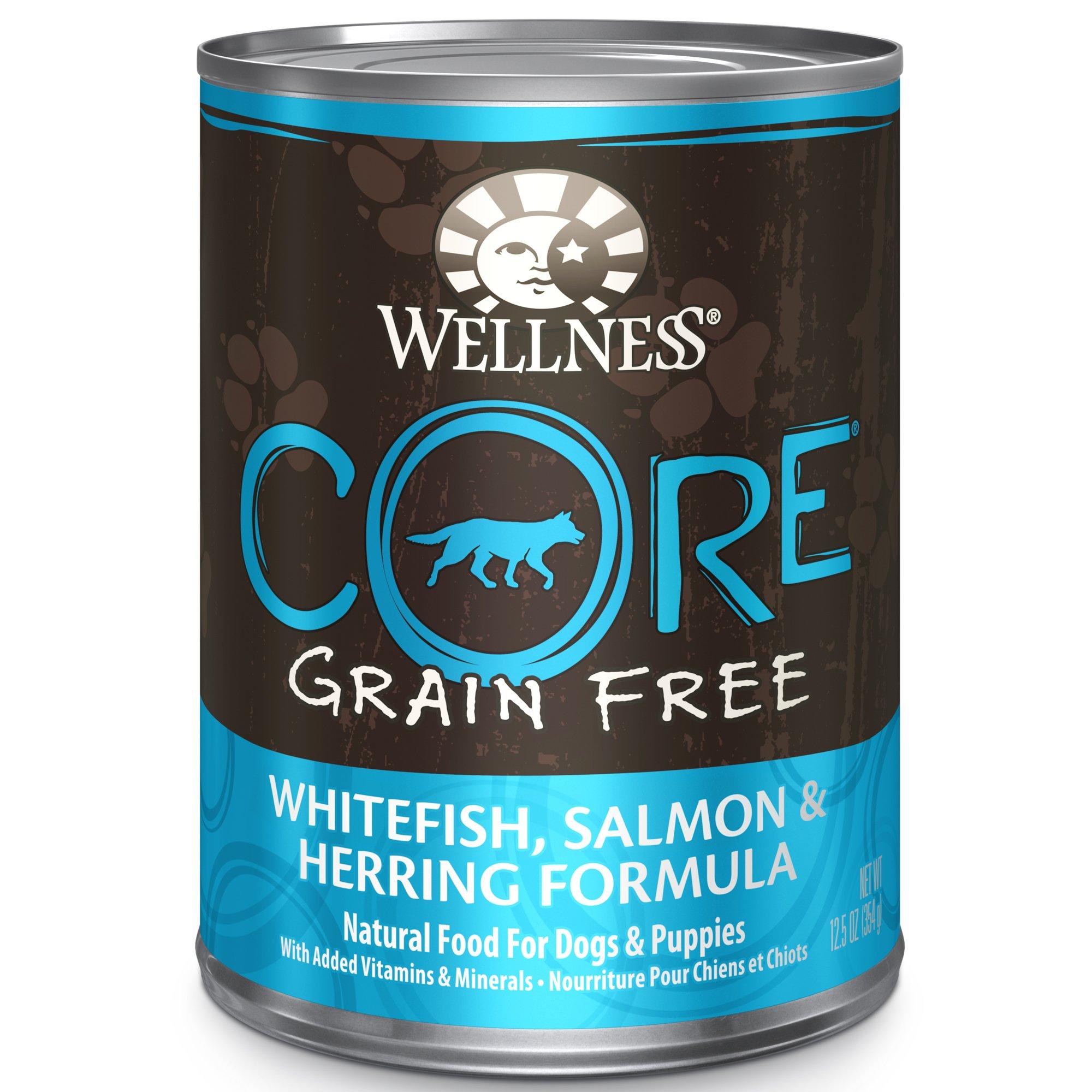Wellness Canned Dog Food Whitefish Herring