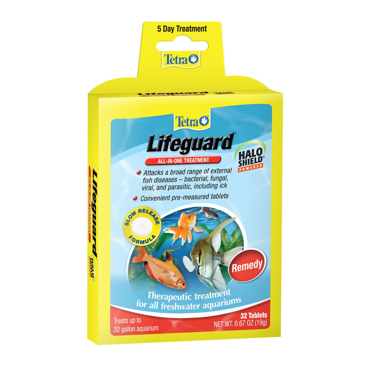 Tetra lifeguard all in one freshwater aquarium treatment for Fish ick treatment