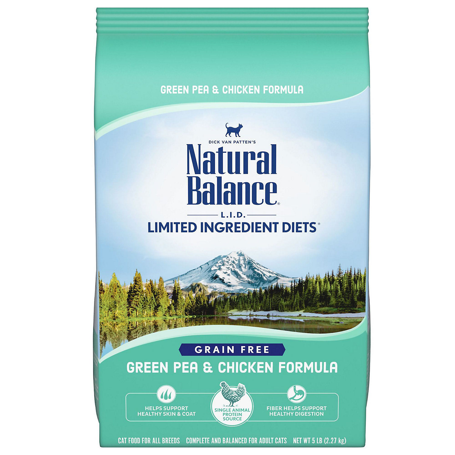 Natural Balance Limited Ingredient Diets Green Pea Chicken Formula Dry Cat Food