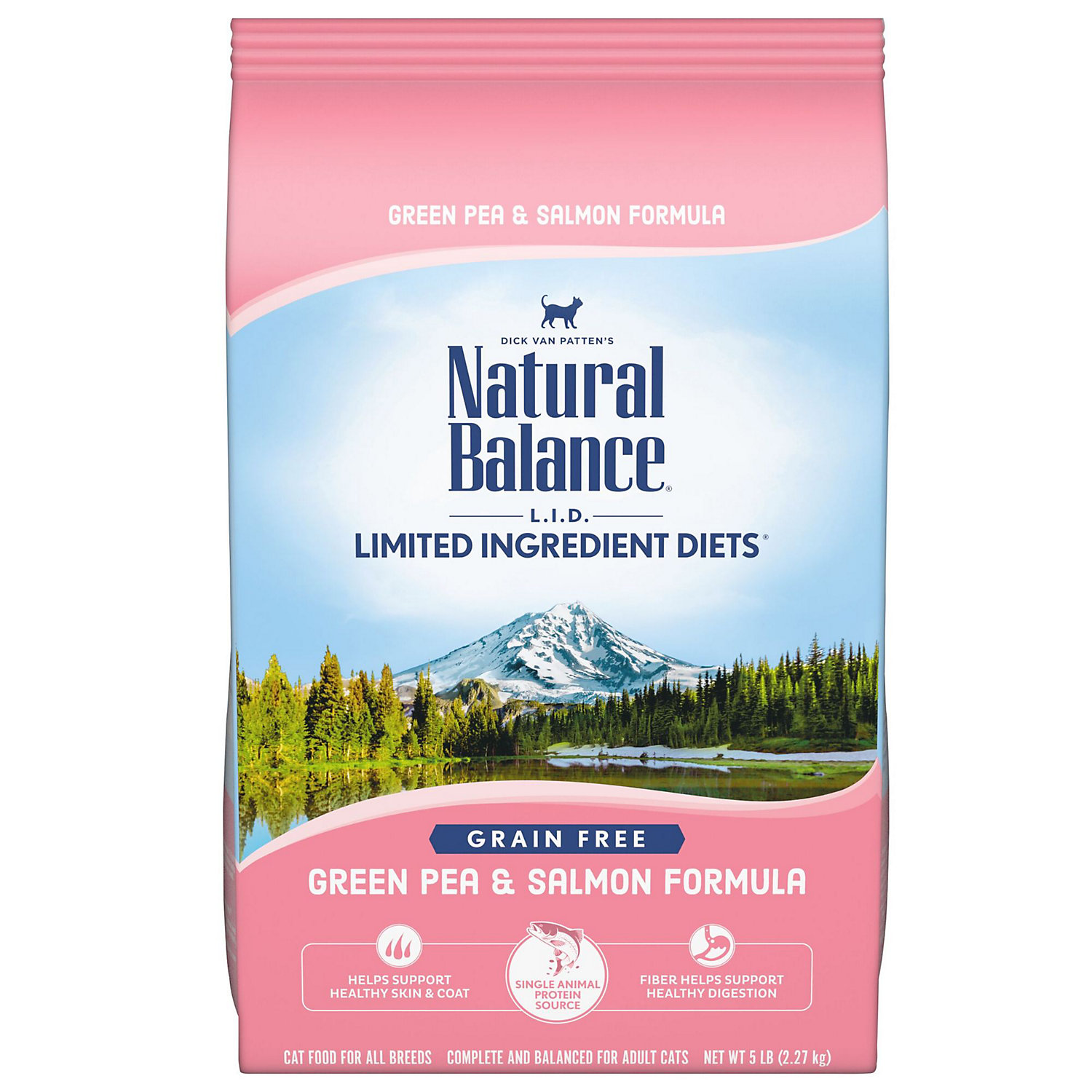 Natural Balance Limited Ingredient Diets Green Pea Salmon Formula Dry Cat Food