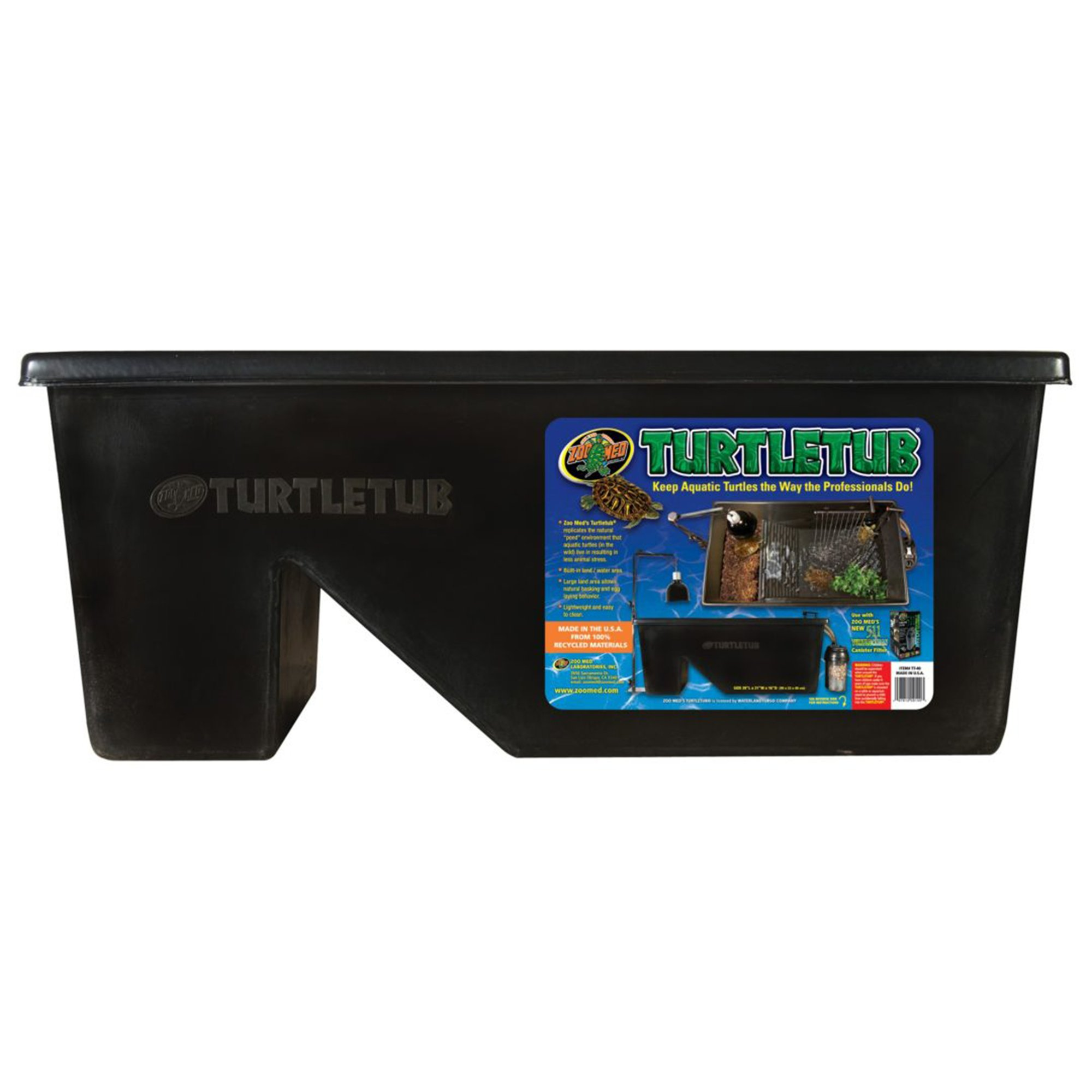 Zoo Med Aquatic Turtle Tub Kit Petco
