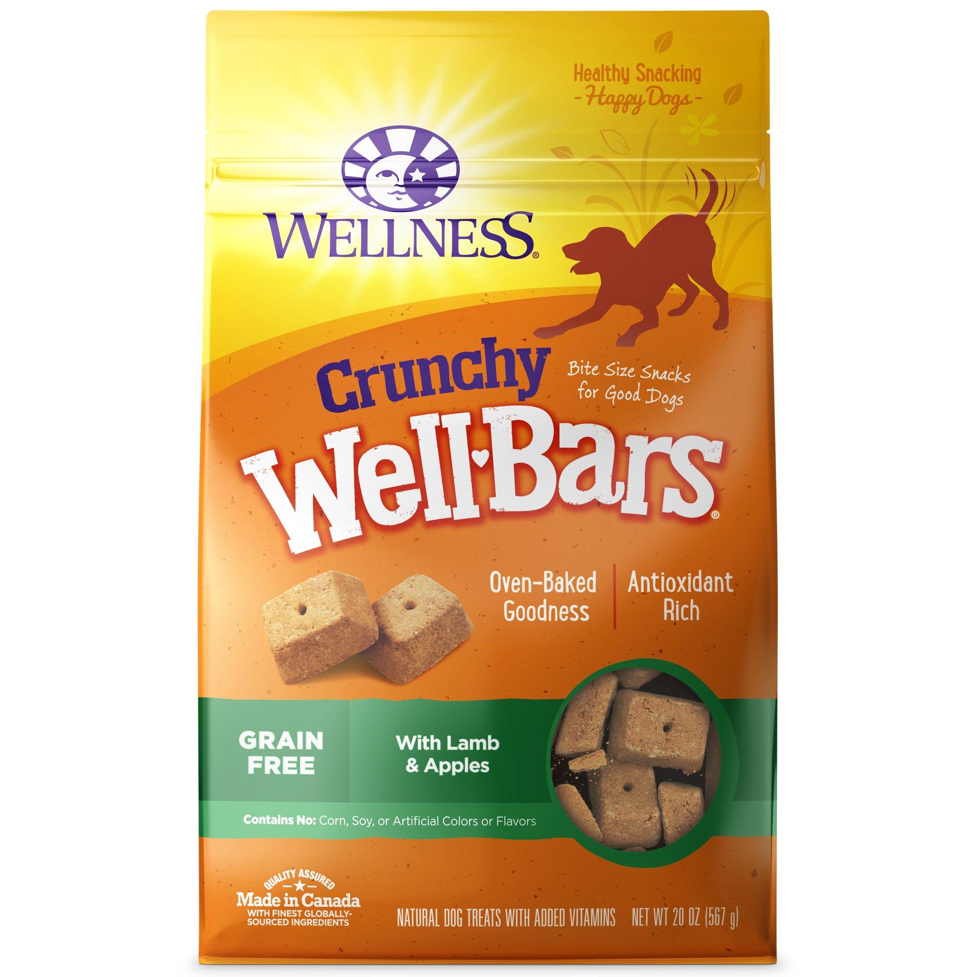 Wellness Natural Grain Free Wellbars Crunchy Lamb & Apples
