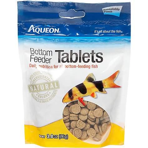 Aqueon bottom feeder tablets petco for Feeder fish petco