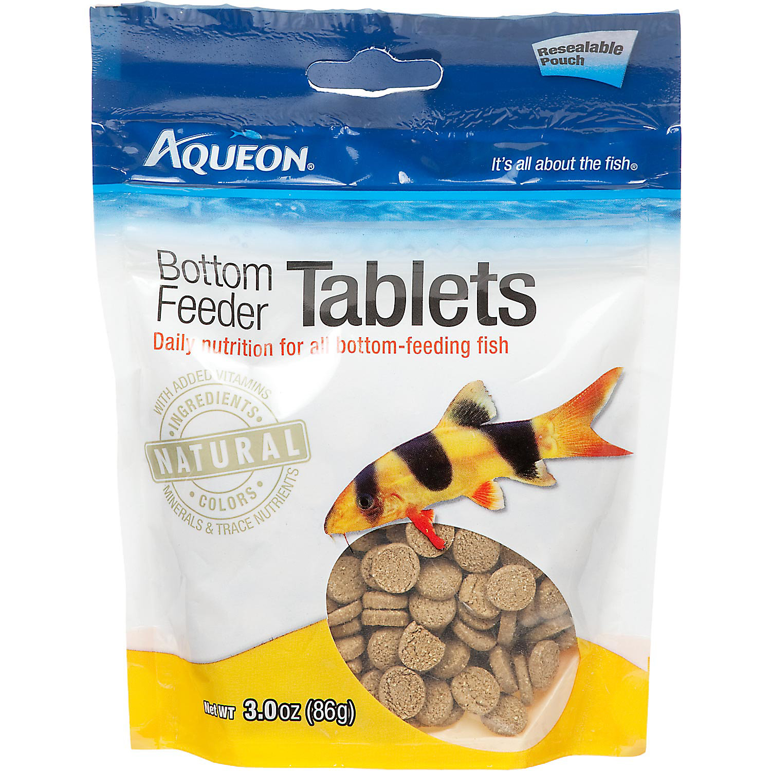 Aqueon Bottom Feeder Tablets 3 Oz.
