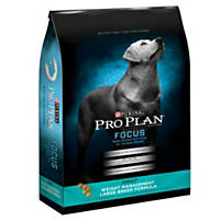Pro Plan Focus Weight Management Large Breed Dog Food