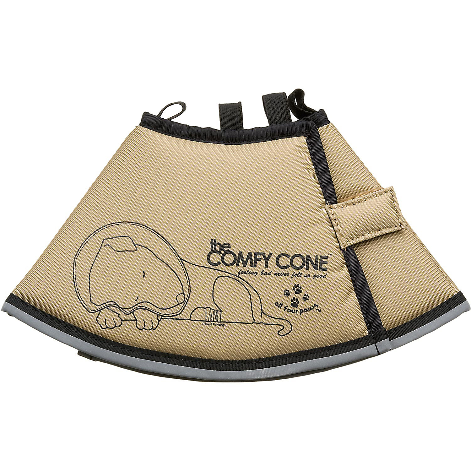 All Four Paws Tan Comfy Cone Small Small 12.5 Cm