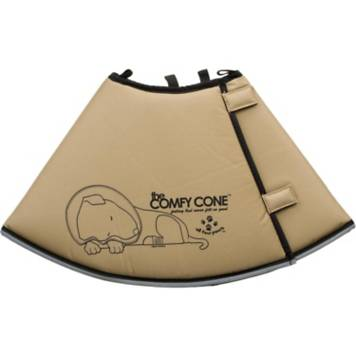 All Four Paws Tan Comfy Cone | Petco