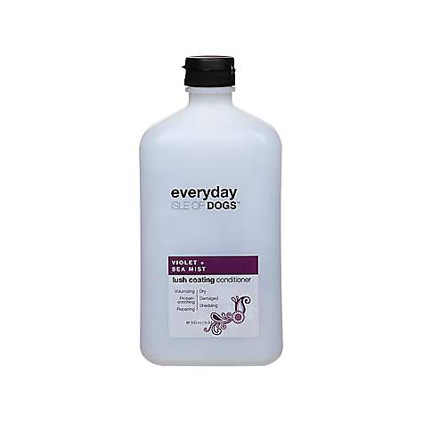 Isle of Dogs Everyday Violet & Sea Mist Lush Coating Conditioner for Dogs