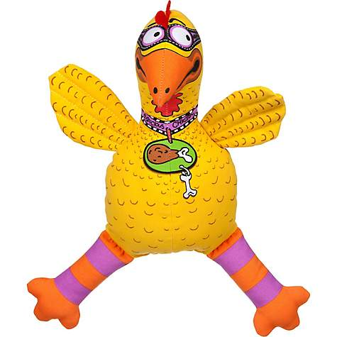 Bamboo Classics Suspicious Chicken Dog Toy