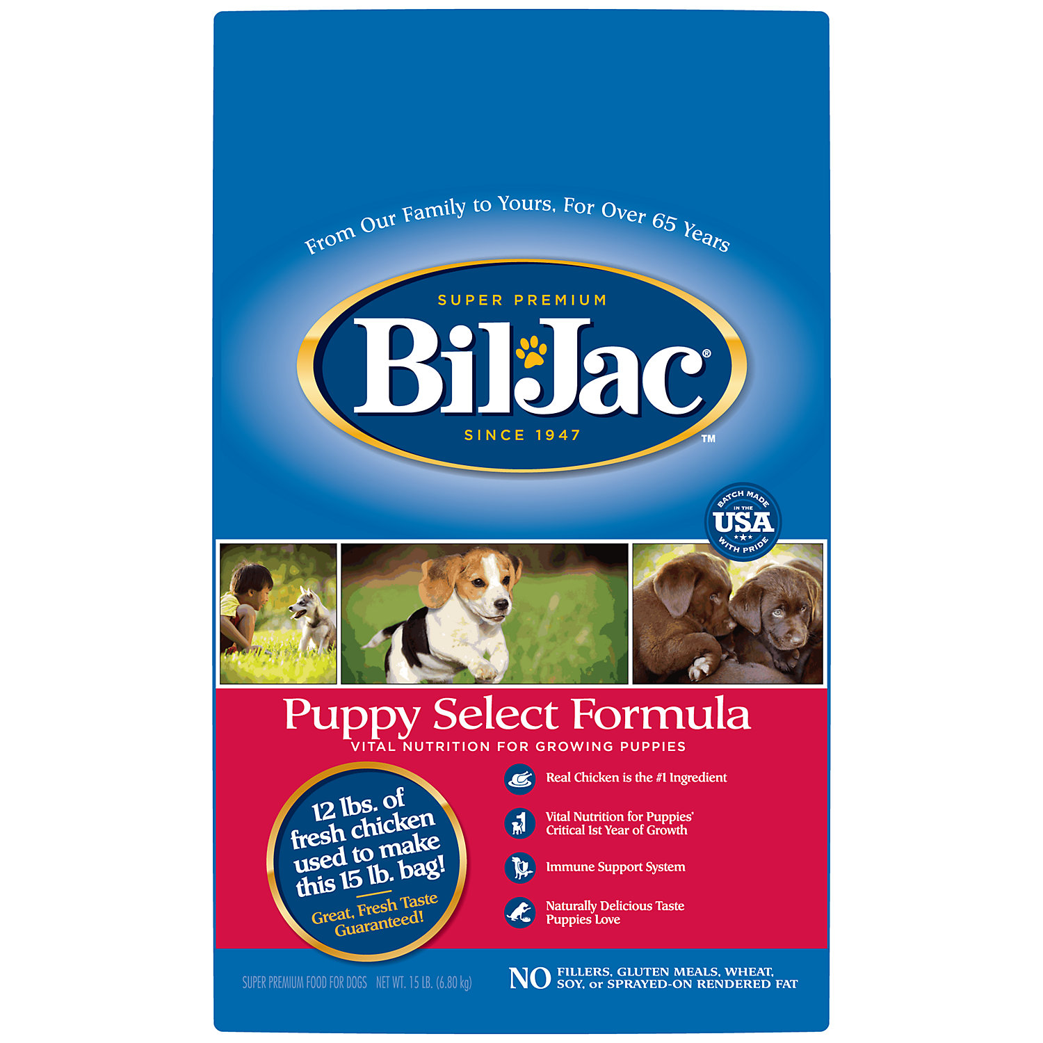 Bil-jac Puppy Select Formula Puppy Food