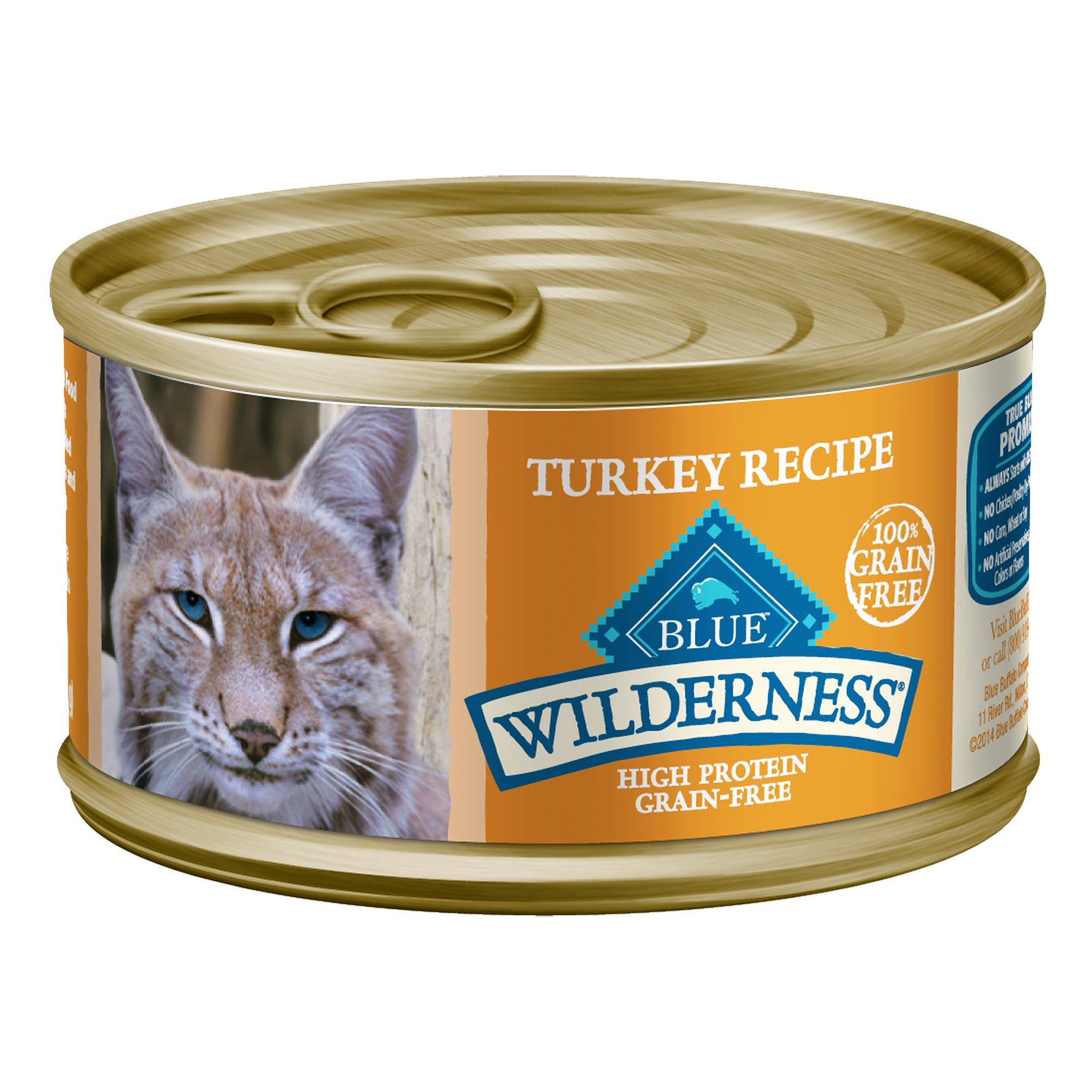 Blue Wilderness Turkey Canned Cat Food