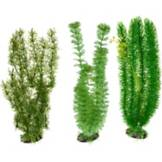 Imagitarium Green Background Plastic Aquarium Plant