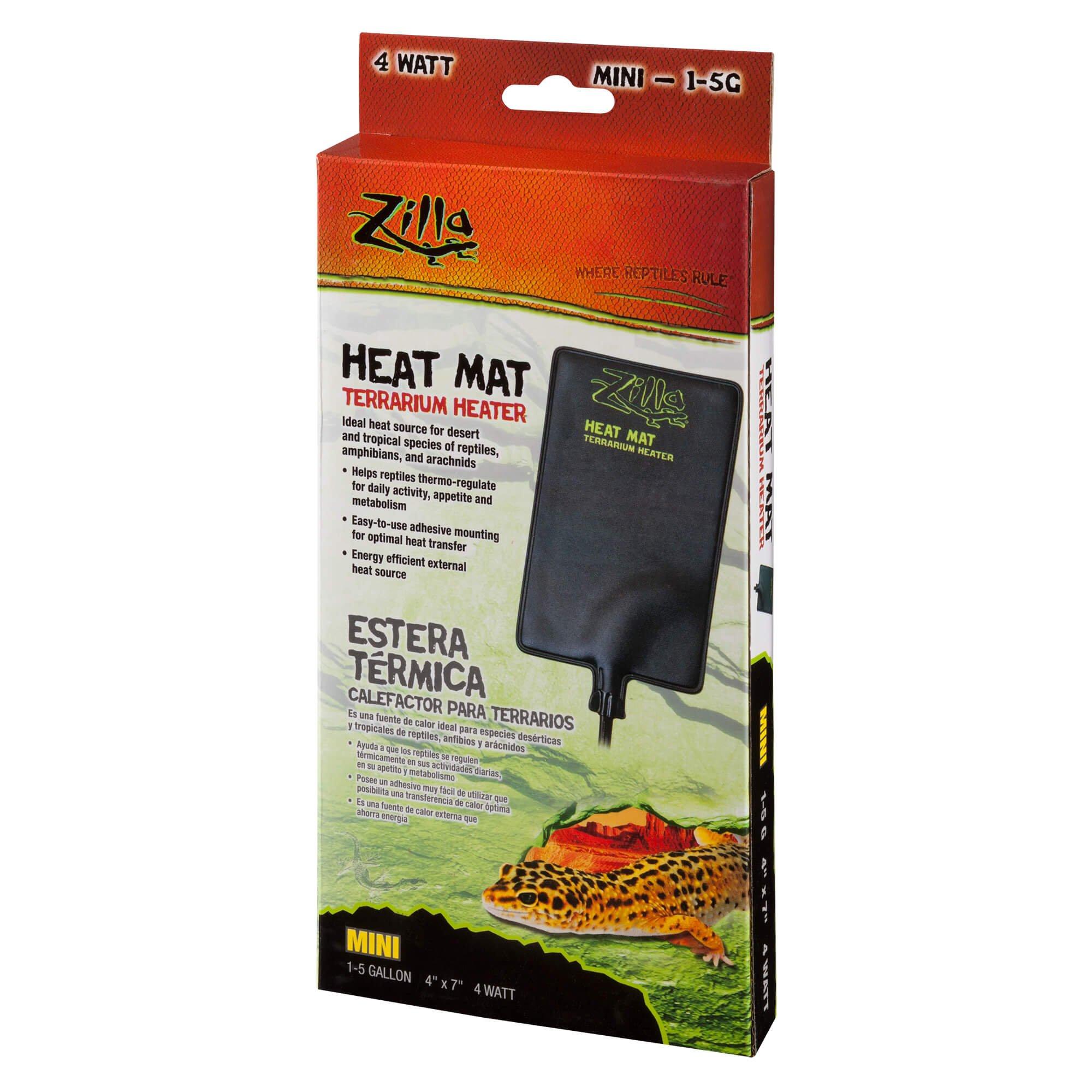 Zilla under tank reptile heaters mini petco for Fish tank heater petco
