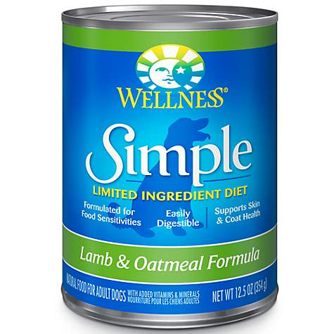 Wellness Simple Limited Ingredient Dog Canned Food