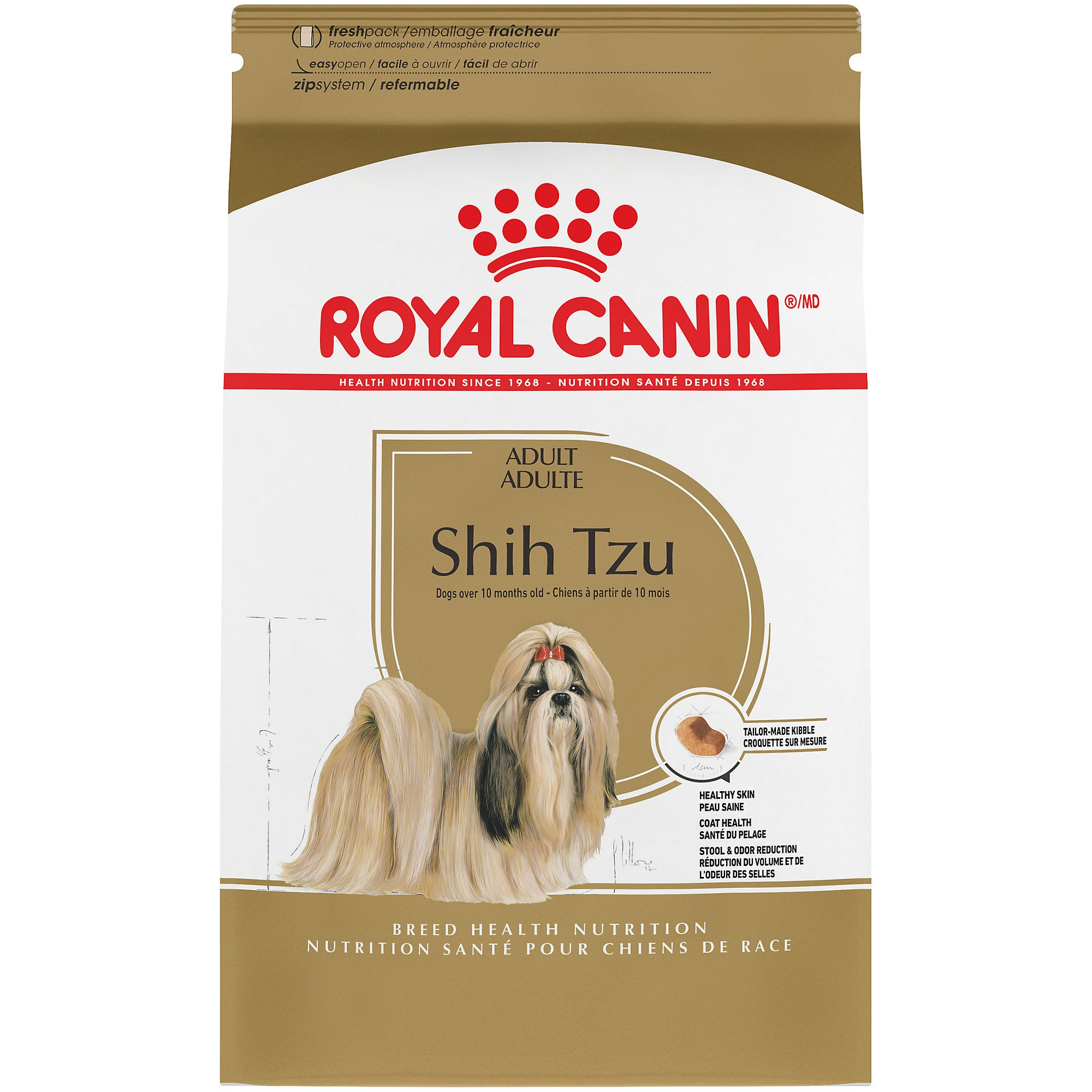 royal canin breed health nutrition shih tzu adult dry dog food petco. Black Bedroom Furniture Sets. Home Design Ideas