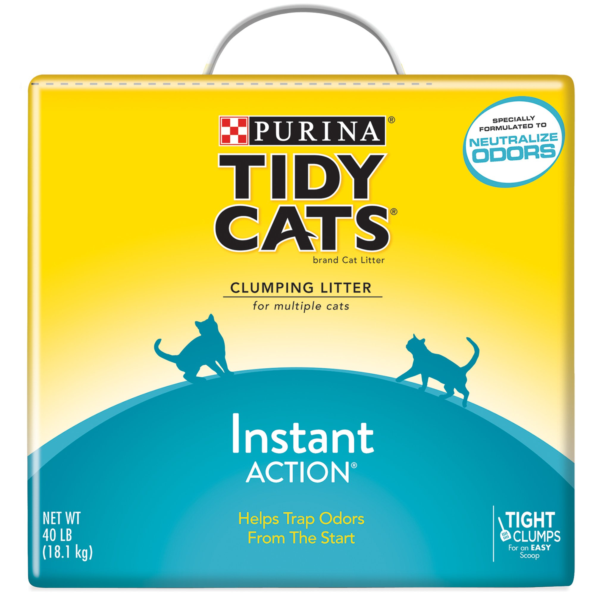 Purina Tidy Cats Clumping Litter Instant Action for Multiple Cats