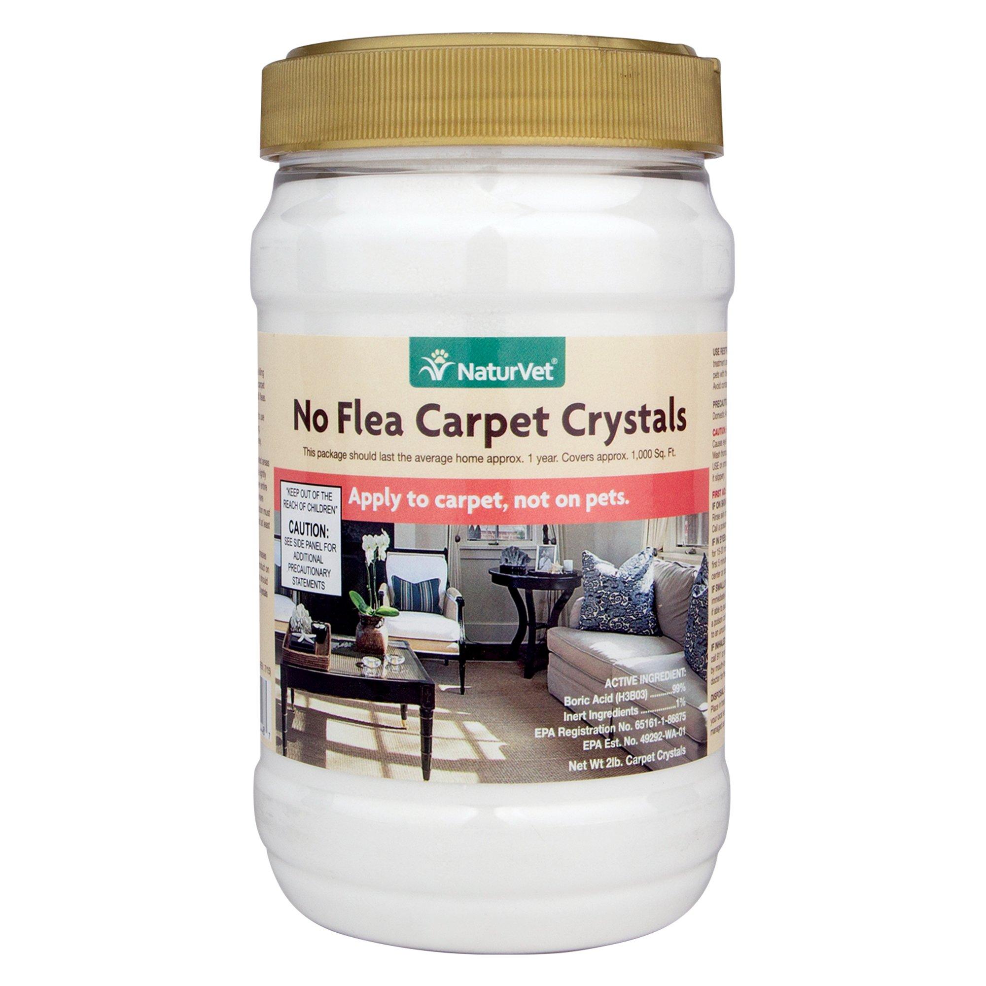 Naturvet No Flea Dog Amp Cat Carpet Crystals Petco