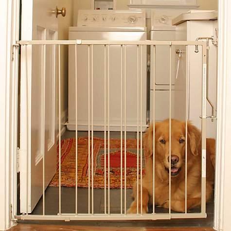 Cardinal Gates Taupe Duragate Pet Gate | Petco